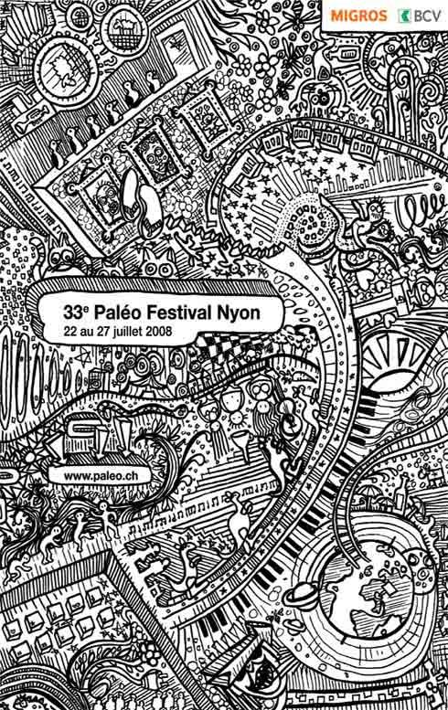 Paleo Festival 2008 - Suiza.