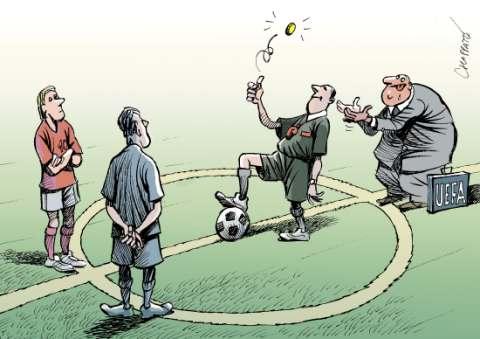 Inicio del Euro2008 en Suiza y Austria.