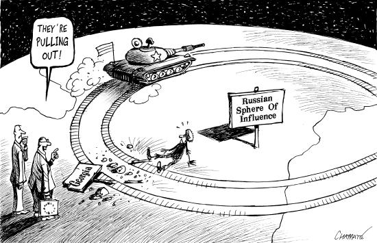 Rusia aplasta a los más pequeños.
