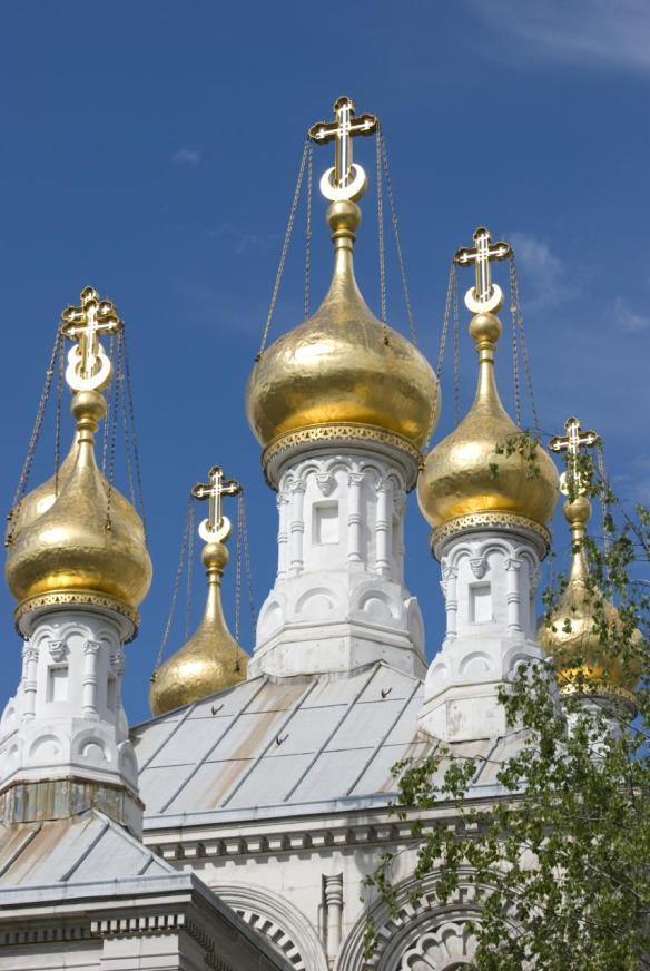Iglesia ortodoja de Ginebra (cerca de Rive)