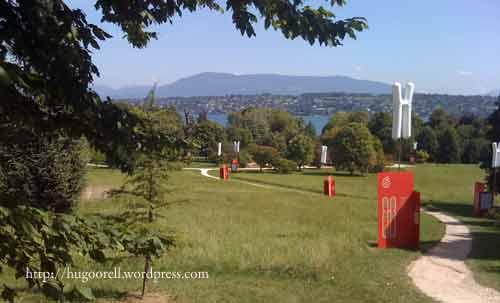 Exposición Chromosome Walk. Ginebra. Suiza