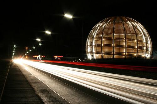 Globo de la innovación. CERN