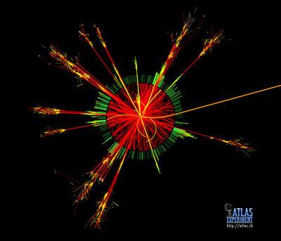 Simulación de un agujero negro.