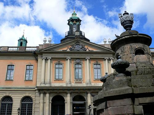Academia Sueca. Estocolmo.
