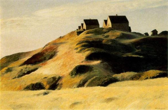 Corn Hill. Truro, Cap Cod. Edward Hopper, 1930.