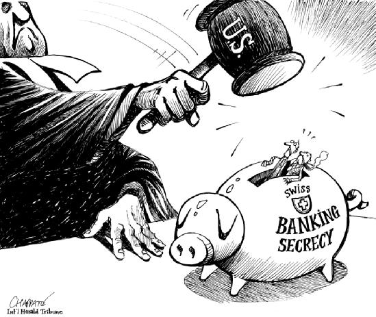 Hacia el fin del secreto bancario?. Chappatte