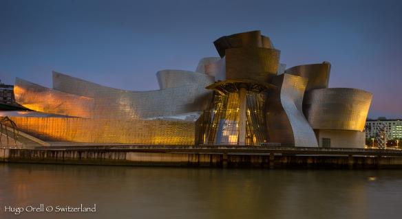 Visión nocturna -  Museo Guggenheim Bilbao