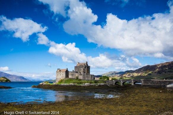 Castillo de Eilean Donan.